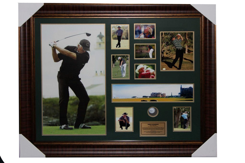 1. GREG NORMAN SIGNED WITH BALL