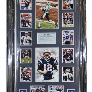Brady Tom Signed 8x12 0120