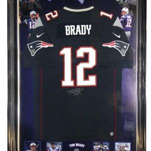 Brady Tom Signed Jersey 0918